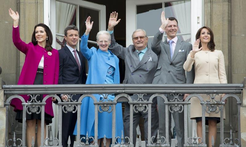 La reina Margarita de Dinamarca celebra junto a todos sus nietos su 76 cumpleaños