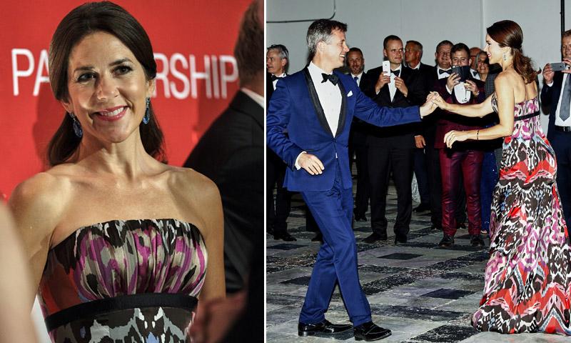¡Mira quién baila! Federico y Mary de Dinamarca se convierten en los 'reyes' de la pista