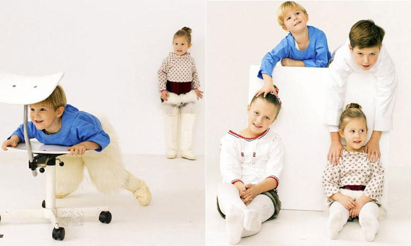 FOTOGALERÍA: ¡Las imágenes más divertidas de los Príncipes daneses y sus hijos!