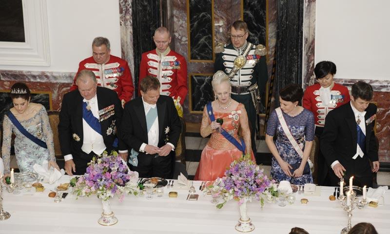 La 'misteriosa' cena de la reina Margarita por la que todos miraban a Dinamarca