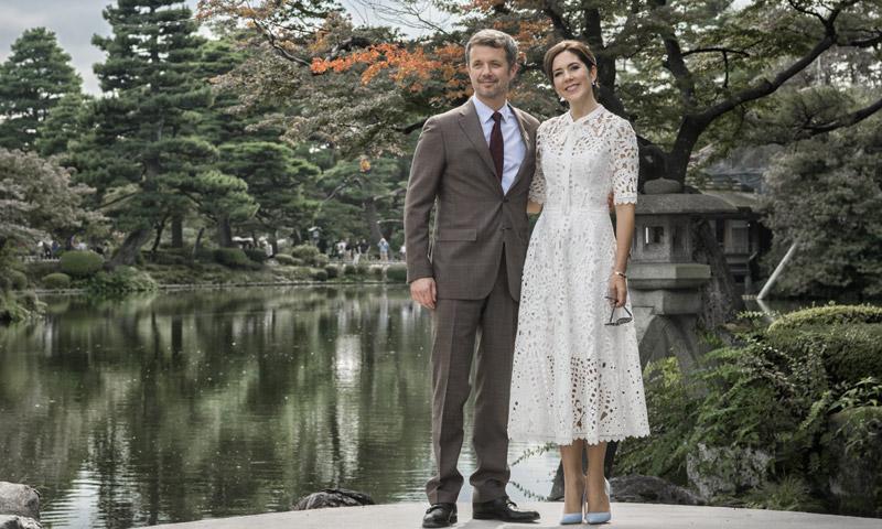 El idílico álbum de fotos de Federico y Mary de Dinamarca en Japón