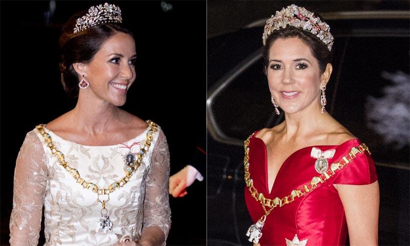 Las princesas Mary y Marie de Dinamarca escogen sus joyas favoritas para recibir el nuevo año
