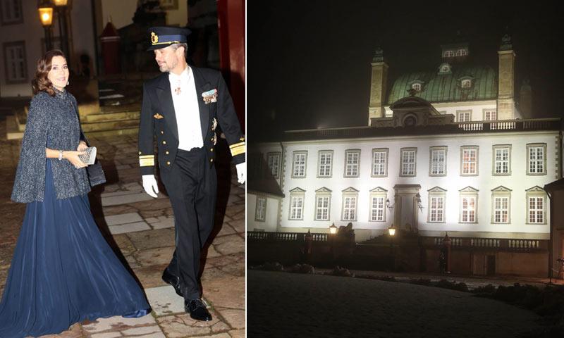 Margarita de Dinamarca y los príncipes herederos Federico y Mary rompen el luto