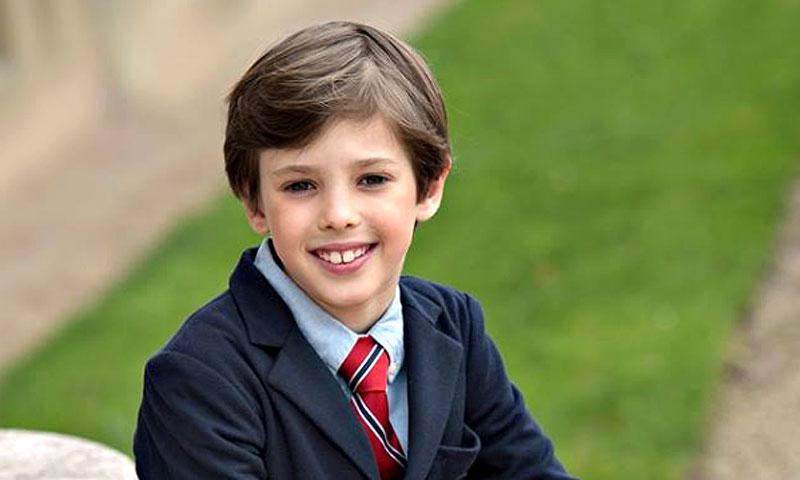 El príncipe Henrik cumple nueve años con nuevas fotografías oficiales