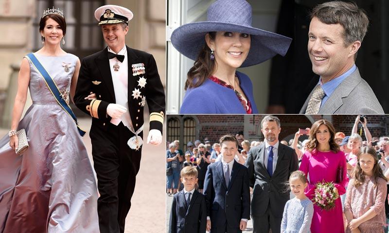 Llegada en carruaje, saludo desde el balcón, gala en Palacio... El cumpleaños casi de rey de Federico de Dinamarca