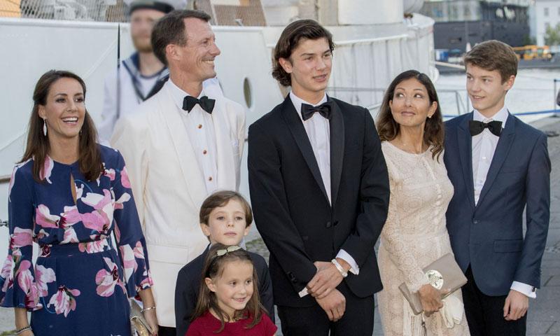 Un vídeo muestra la tensión entre la princesa Marie de Dinamarca y la exmujer de su marido