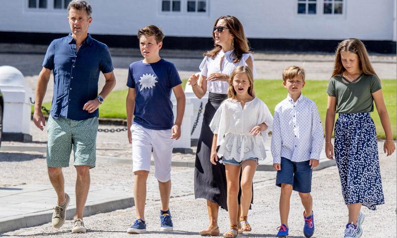 El susto de Christian de Dinamarca: descubre a dos ladrones en la residencia de verano de la Familia Real