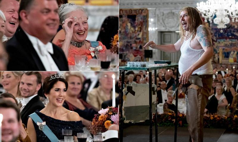 No te pierdas el personaje que se coló en la última cena de gala de Dinamarca