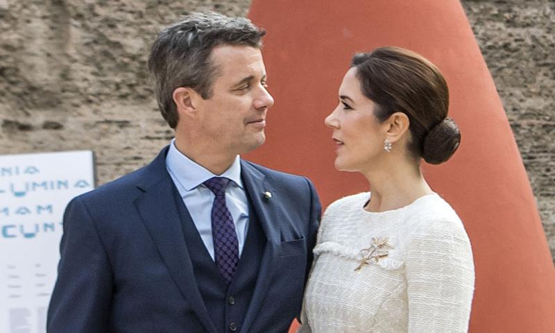 Mary y Federico de Dinamarca rememoran su pedida de mano quince años después
