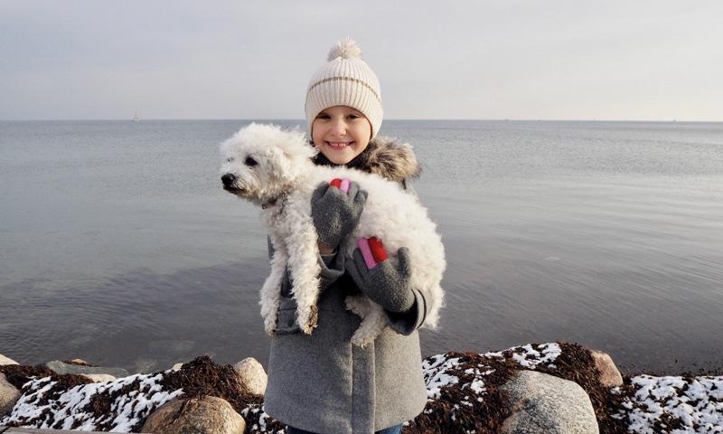 Athena de Dinamarca cumple 7 años y sus padres comparten estas simpáticas imágenes para celebrarlo