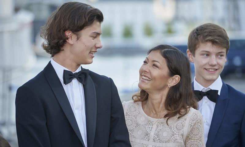El último detalle de Nicolás de Dinamarca que ha enorgullecido a su madre, la condesa Alejandra