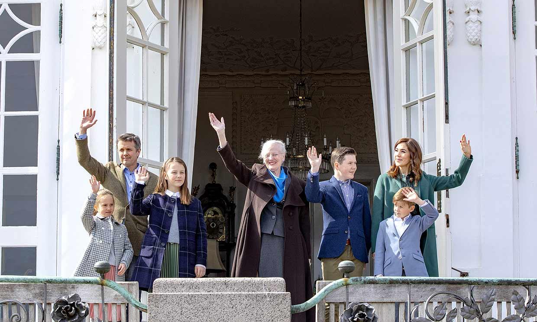 Los nietos de Margarita de Dinamarca enamoran en el 79 cumpleaños de la Reina