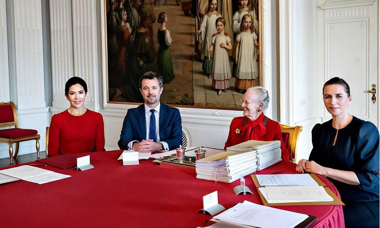 La princesa Mary, nombrada nueva regente de Dinamarca