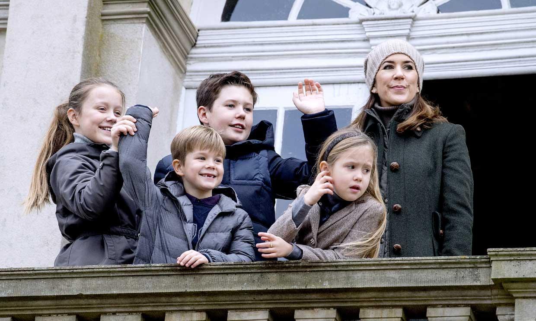 Mary de Dinamarca se mudará con sus hijos a Suiza