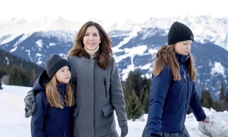 Así es la vida de la princesa Mary de Dinamarca en Suiza