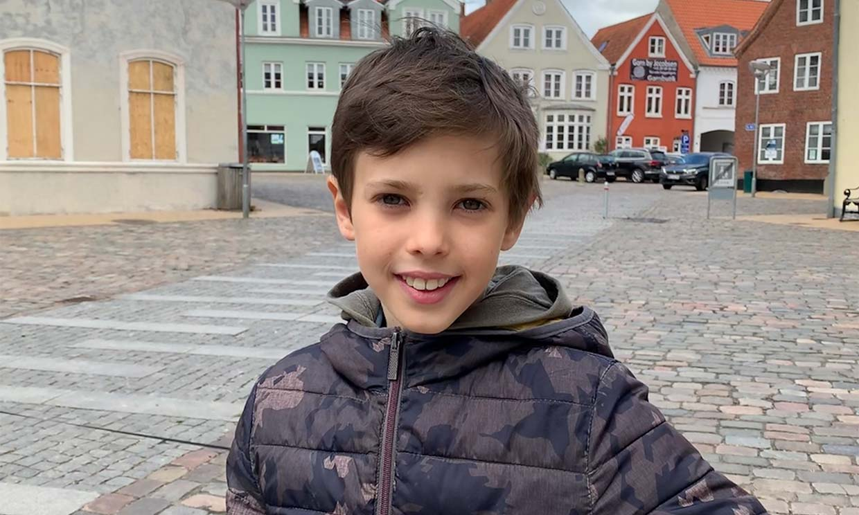Totalmente recuperado y retratado por su hermana, Henrik de Dinamarca cumple 11 años