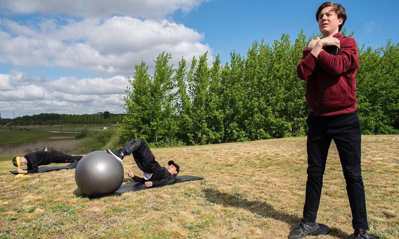 ¿Se prepara para los Juegos Olímpicos? El duro entrenamiento de Christian de Dinamarca junto a su padre