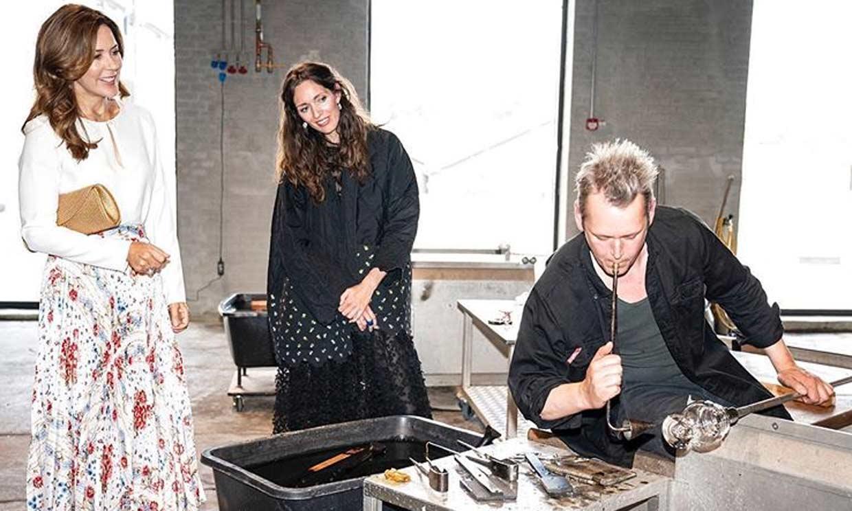 La inauguración de un museo, el acto con el que Mary de Dinamarca retoma su agenda