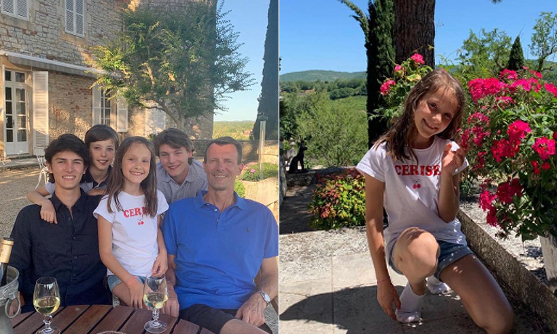 Joaquín de Dinamarca disfruta con sus hijos de sus tradicionales vacaciones en el sur de Francia