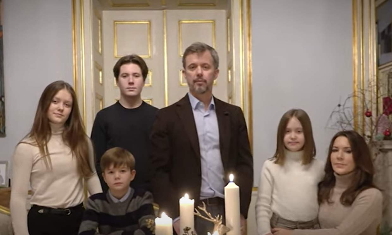 Christian de Dinamarca reaparece tras su positivo en Covid en el 'christmas' de sus padres