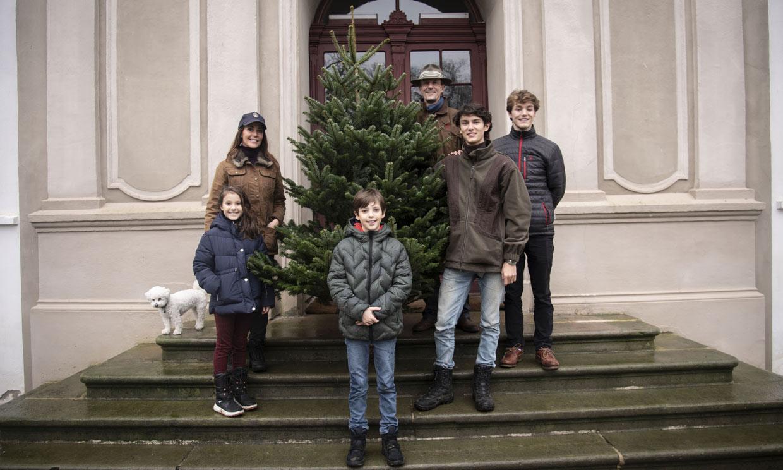 ¡A la caza del abeto perfecto! Joaquín de Dinamarca y su familia, los últimos en tener árbol de Navidad