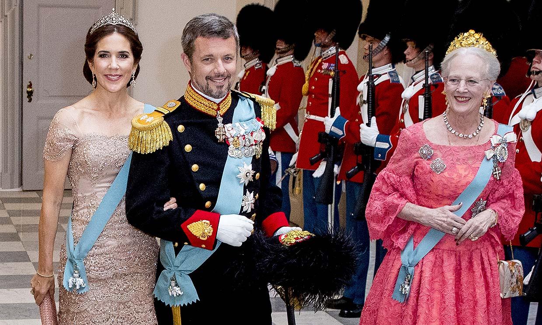La Familia Real danesa sigue la tradición y se reúne para decorar los huevos de Pascua