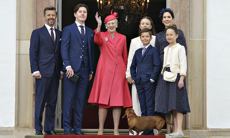 En familia y con un invitado inesperado, Christian de Dinamarca recibe la confirmación