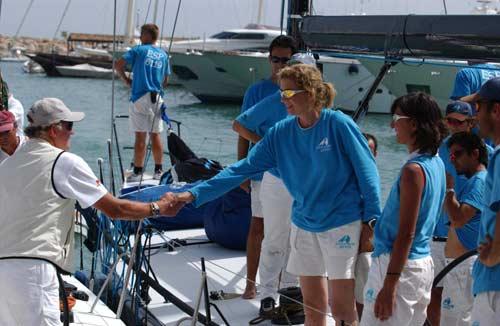 El Rey, campeón de la regata Islas Baleares