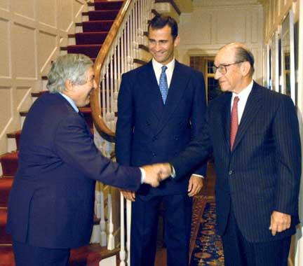 El Príncipe de Asturias 'conquista' la Gran Manzana