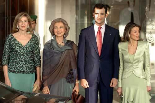 Los Príncipes de Asturias vuelven a casa para celebrar la onomástica del Rey