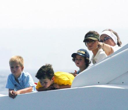 La Familia Real se prepara en Palma para la Copa del Rey de vela