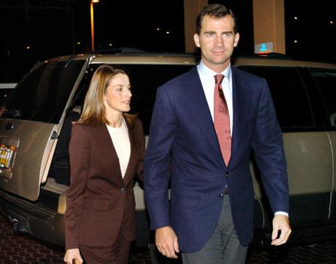Los Príncipes de Asturias inician su visita oficial a Estados Unidos