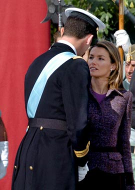 La Familia Real española preside las celebraciones del Día de la Fiesta Nacional