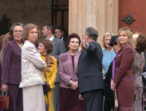 La reina Sofía, la mejor anfitriona de las primeras damas iberoamericanas en Salamanca