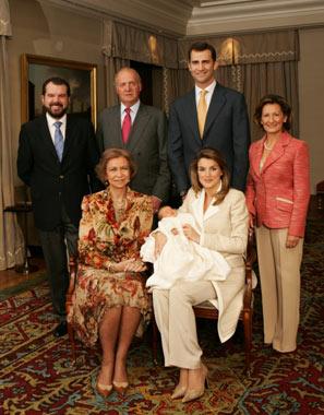 Primeras fotografías oficiales de la infanta Leonor en la residencia de los Príncipes