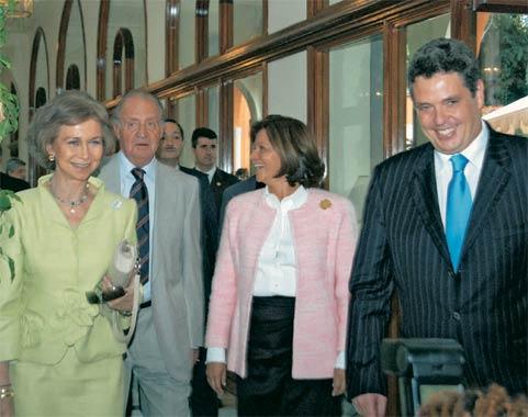 Así celebraron en privado don Juan Carlos y doña Sofía su 30º aniversario como soberanos