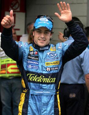 El Rey, seguidor de excepción de Fernando Alonso