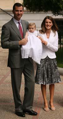 La princesa Letizia cumple 34 años como esposa y madre feliz