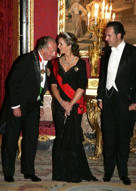 El rey don Juan Carlos expresa su 'gran ilusión' por la 'feliz noticia'