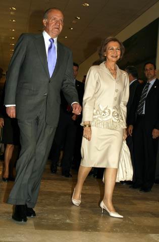 Declaraciones de la reina doña Sofía con motivo de la inauguración del Centro Alzheimer de Madrid