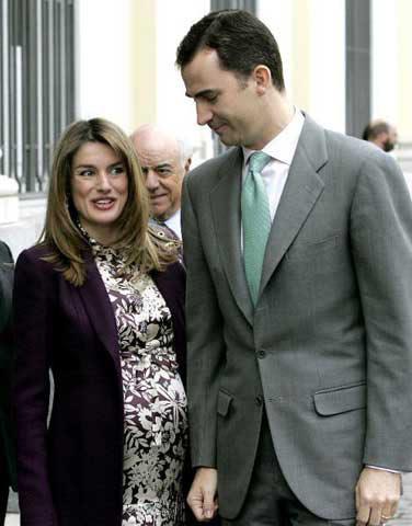El Príncipe de Asturias: 'No hay nada programado. El nacimiento se producirá cuando diga la naturaleza'