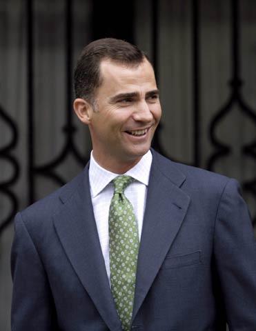 El príncipe Felipe: 'Nuestra hija se llama Sofía'