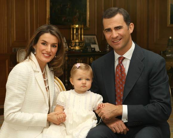 La infanta Leonor celebrará con una fiesta infantil su segundo cumpleaños