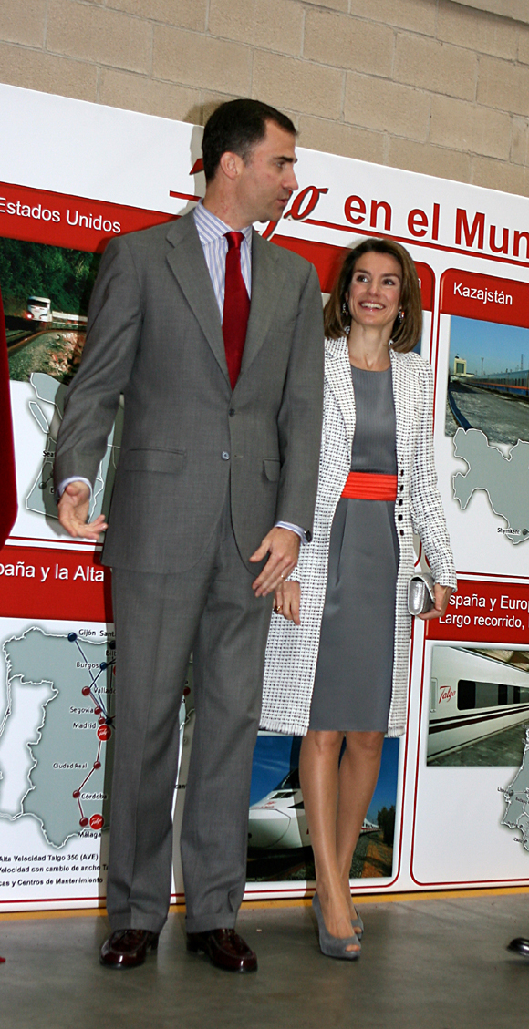 Los Príncipes de Asturias, siempre a tono