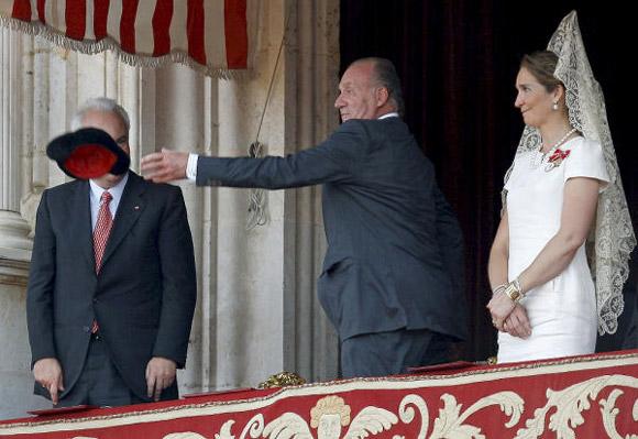 La infanta Elena regresa a la ciudad donde se casó junto a su padre, el Rey