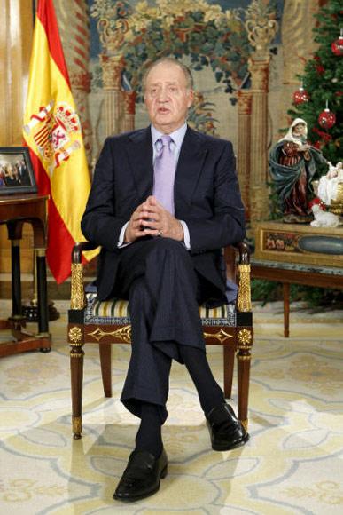 La Constitución, las víctimas del terrorismo y la crisis económica centran el discurso de Navidad del Rey