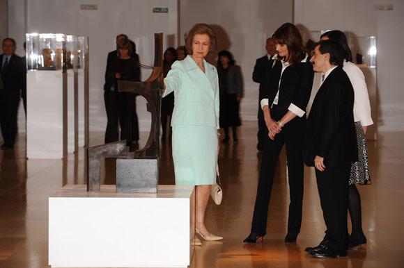 La reina Sofía y Carla Bruni: arte y compostura en el Museo Reina Sofía