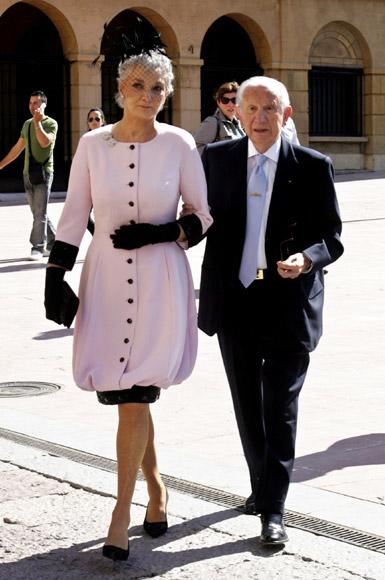 Los Duques de Palma asisten a la boda del hijo del Presidente de La Caixa en Oviedo