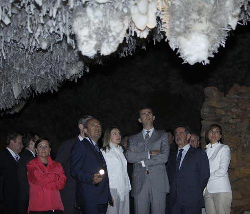Cantabria se vuelca en su recibimiento a los Príncipes de Asturias