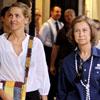 La reina Sofía y las infantas Elena y Cristina, de compras en Palma